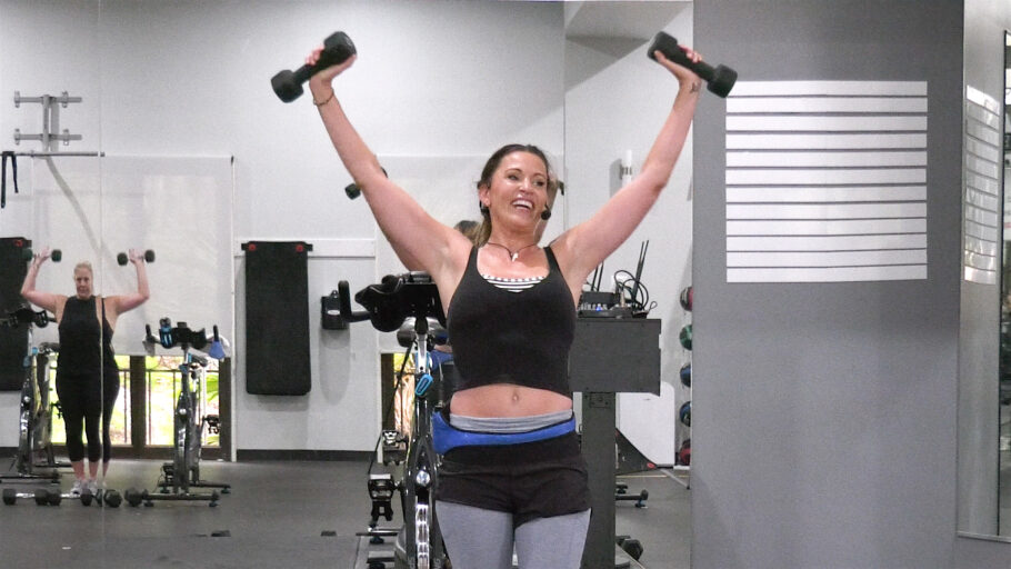 weightlifting workout with Cat Kom Lift to Lean in Quarters