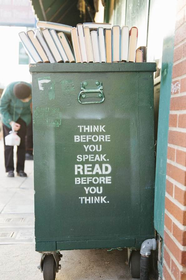 read before you think