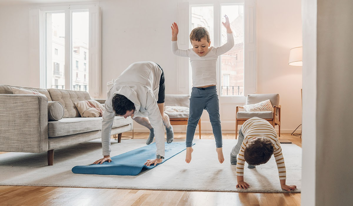 tips to get your whole family working out together