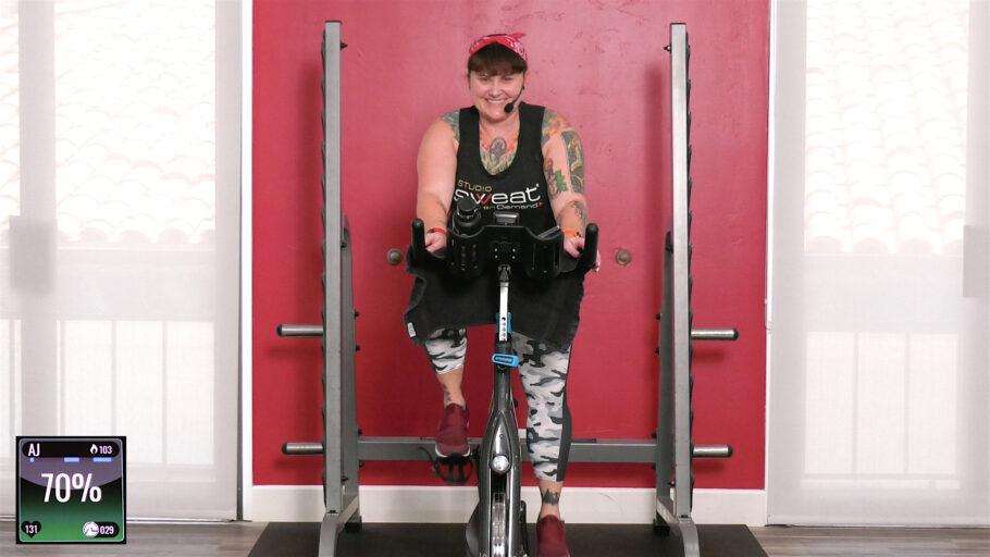 meditative low intensity cycling workout Ride