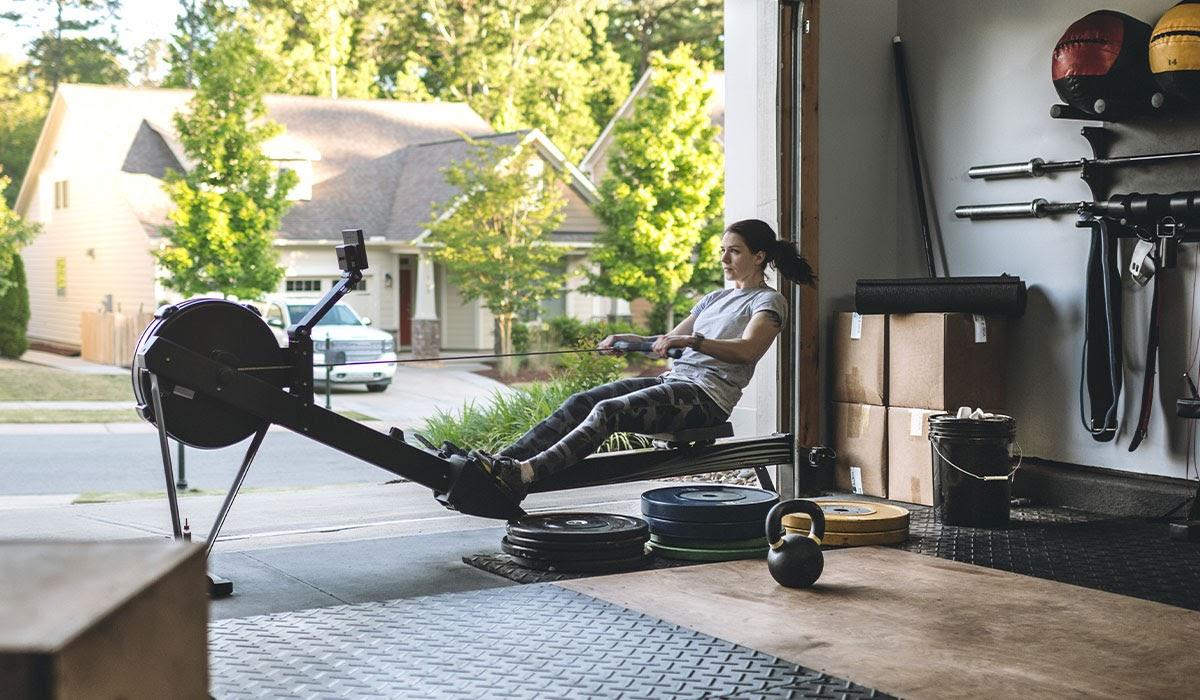 rowing machine home gym