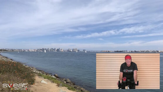 one-hour simulated outdoor cycle 60 Min Scenic Spin