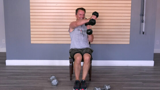 challenging seated strength workout for limited mobility Seated Strength Training