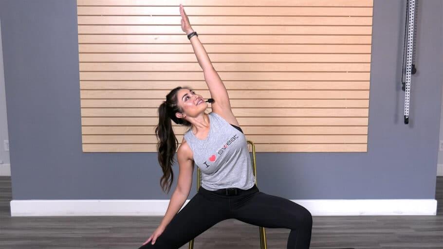 chair yoga workout Chair Yoga Flow
