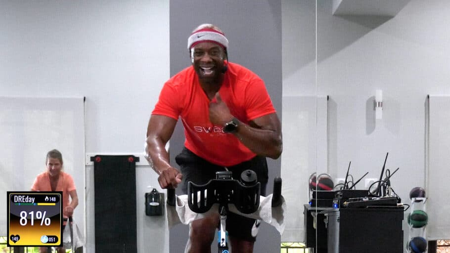 fight-themed indoor Spinning workout TKO Fighter Ride