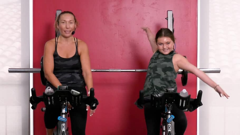 family-friendly, kid's Spin class