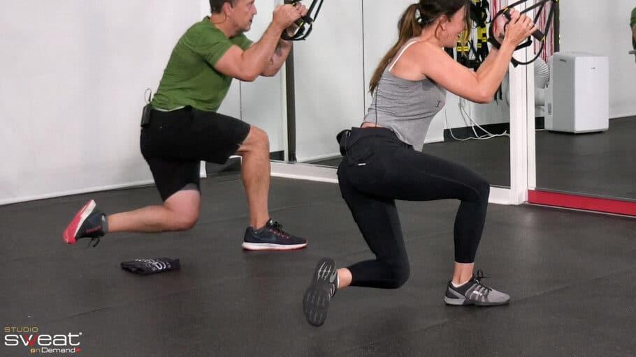 quick TRX Leg & Bun Workout TReXpress - Legs & Buns