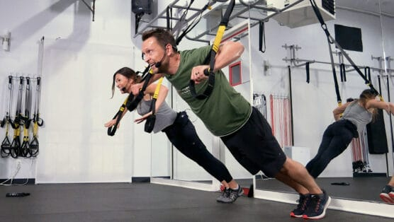 total upper-body TRX workout TReXpress - Upper-Body Blast
