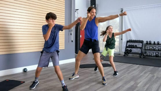 good boxing workout for kids Youth Knockout Battle