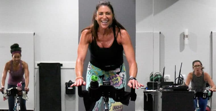high calorie-burning Spin video Calorie Torching Spin